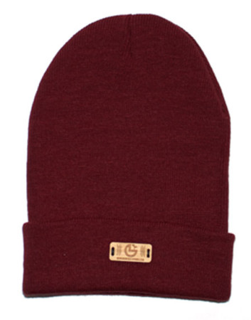 New Growth bamboo beanie burgundy color