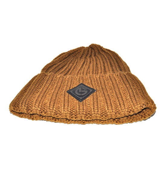 NEW GROWTH CLOTHING KNIT BEANIE BROWN