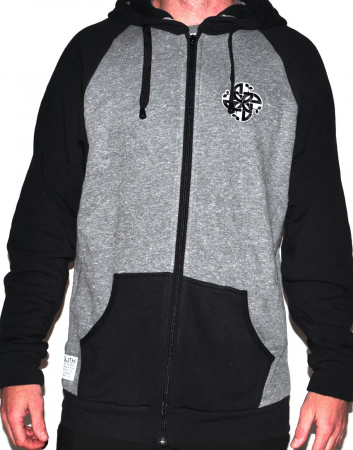 New Growth Clothing buddah zip hoody
