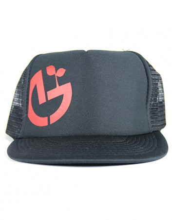 black-trucker-red-logo