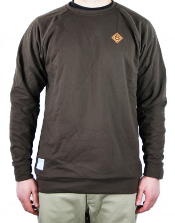 brown-crewneck-sweatshirt-front